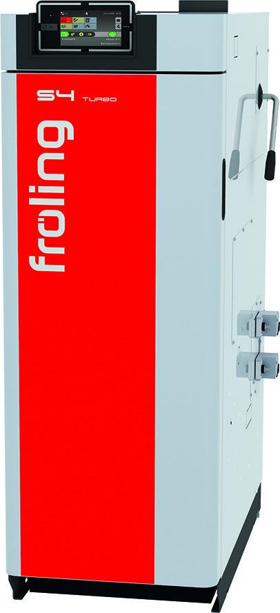 Fröling S4 Turbo 15 fastbrændselskedel